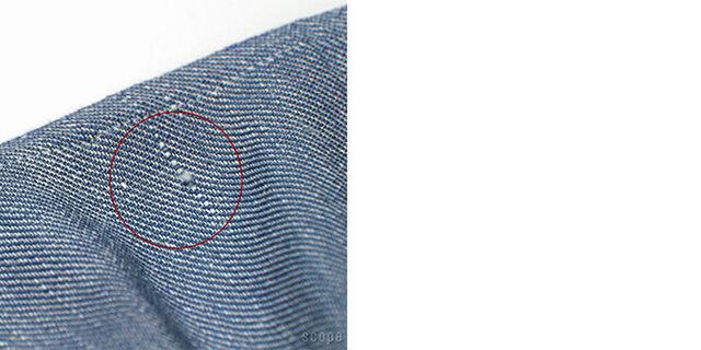 織りの中に太めの糸が見られる場合がございます。