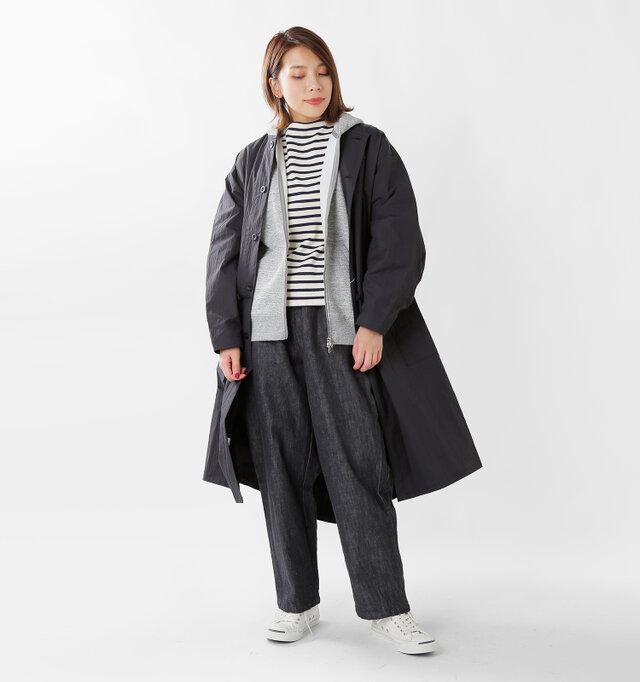 model mei:165cm / 50kg color : mix gray / size : S