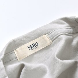 NARU|aranciato別注コットン天竺ワイドプルオーバー 629031-yn