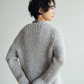 DARUMA|リブ編みの変形セーター キット