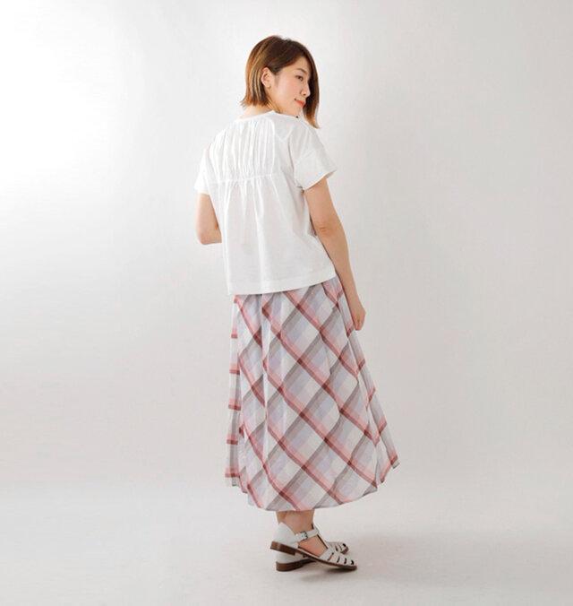 model mei:165cm / 50kg color : white / size : 0