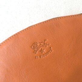 IL BISONTE コンパクトジップレザーポーチ 小物入れ 化粧ポーチ かばん 54323-0-5395 イルビゾンテ