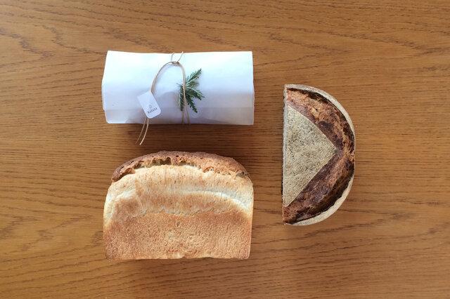 シュトレンと定番の食事パン(エコロジスクブロ、フランスクブロ)セット
