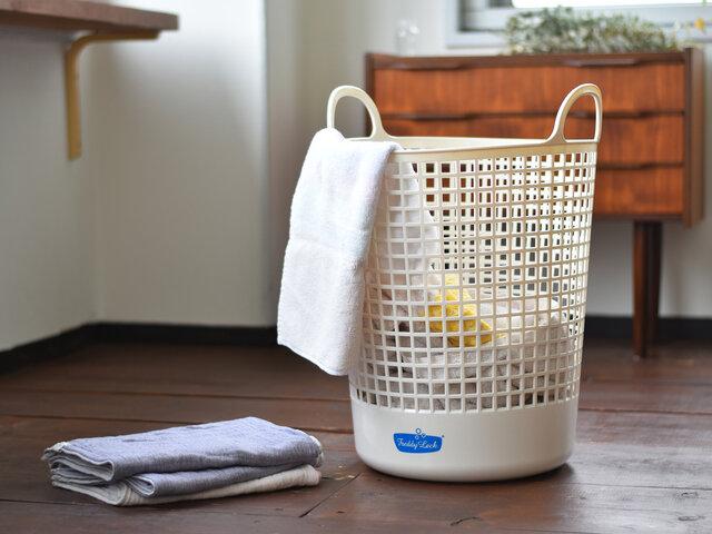 ビッグタイプは、家族みんなのたっぷりの洗濯物もおまかせ!かさばるタオル類もまとめて入ります。