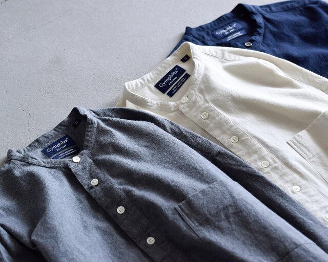 ウォーム感が魅力のコットンビエラ起毛生地を使用したシャツワンピースです。プルオーバータイプでバサッと着てルーズな着こなしを楽しむ1枚です。