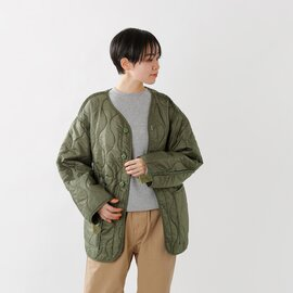 """ROTHCO M-65キルティングノーカラージャケット""""M-65 LINERS DS WASH"""" liners-dswash-tr"""