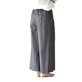MARECHAL TERRE|6オンス デニム ギャザーワイドパンツ Denim Gather Wide Pants イージーパンツ ボトムス ZMT196PT298 マルシャル テル