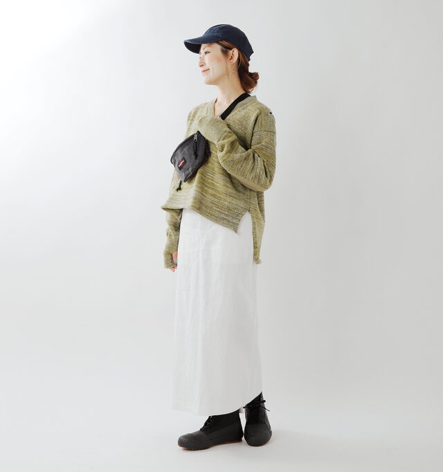 model tomo:158cm / 45kg color : khaki / size : 6