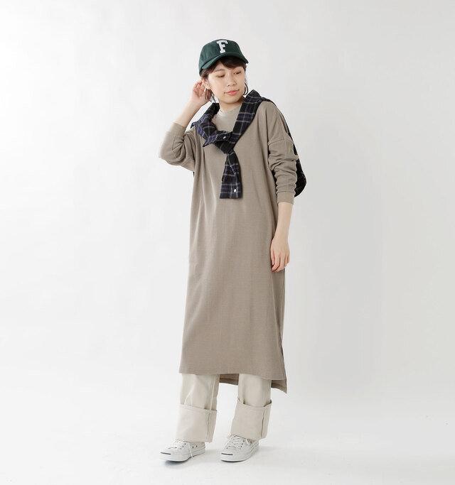 model hikari:165cm / 48kg color : ponderosa / size : F