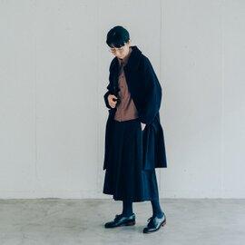 GRANDMA MAMA DAUGHTER デニムプリーツスカート