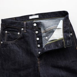 HATSKI|Straight Denim One Wash