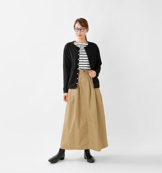 model mizuki:168cm / 50kg color : black / size : 2
