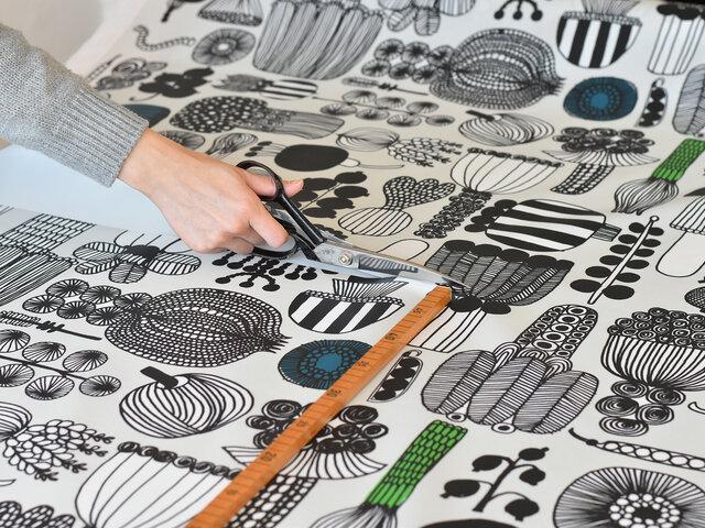 テーブルクロスとして使うのはもちろん、ポーチやスタイなど小物作りにもおすすめです。