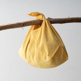 松野屋 天日干し リネンふろしきバッグ