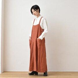 TUTIE.|リネンオックス起毛ジャンパースカート