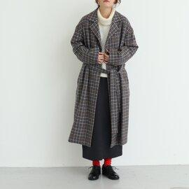 yuni|gunclub checkコート 1701CO010182