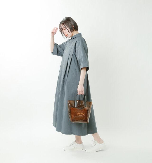 model saku:163cm / 43kg  color : brown×light brown / size : one