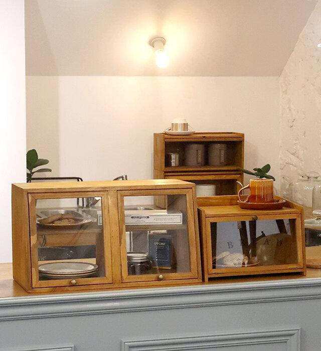 (左から) ワイドラック、ブレッドボックス