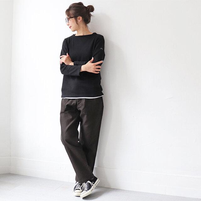 ブラック / 0 着用、モデル身長:167cm