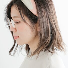 """Ciqi ブルーライト・UVカット メタルフレームリーディンググラス""""Natalie"""" natalie-fn"""