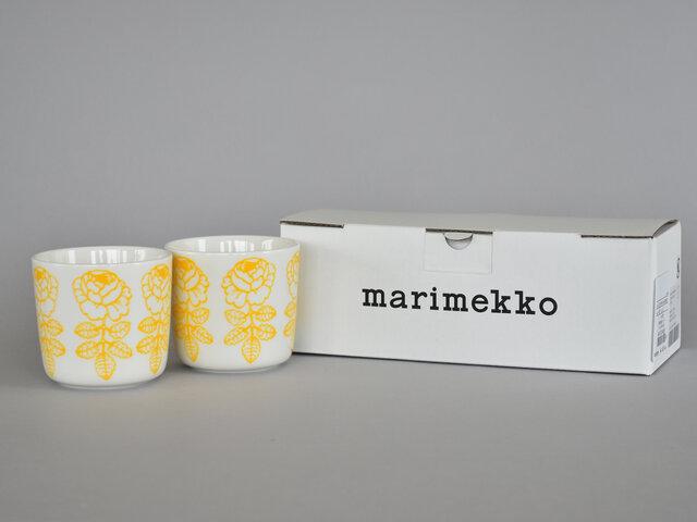 ラテマグを偶数個ご購入いただけますと、marimekkoのギフトボックスに入れてお届けいたします。ラッピングもご好評いただいておりますので、ぜひご利用くださいませ。
