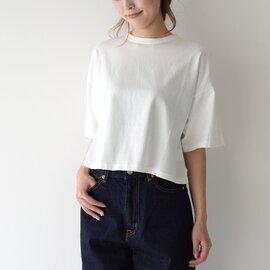 SETTO|クロップド Tシャツ CROPPED T ワイドシルエット ショート丈 半袖 Tシャツ ST-017 セット