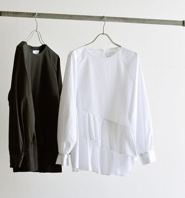 左から black、white