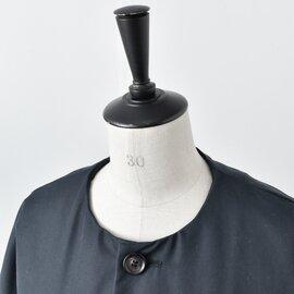 ironari aranciato別注ノーカラーロングサクラコート i-19114arc-rf