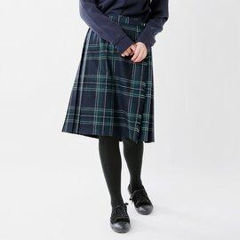 O'NEIL OF DUBLIN|aranciato別注 ウールプリーツ巻きスカート 5059wp-fn