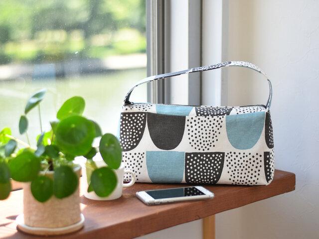 型紙を使って、ワンハンドルショルダーバッグを作ってみませんか?