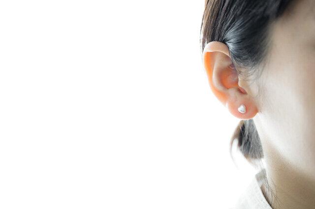 SOURCE|Small Keshi Pearl Post Earrings