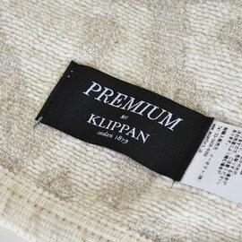 KLIPPAN|シングルブランケット 吾亦紅 リネン&シュニール