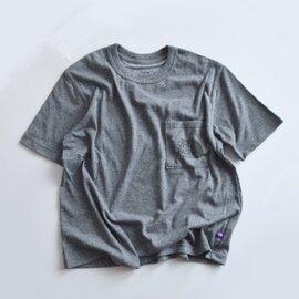 THE NORTH FACE PURPLE LABEL|COOLMAXロゴポケットTシャツ nt3704n-hm