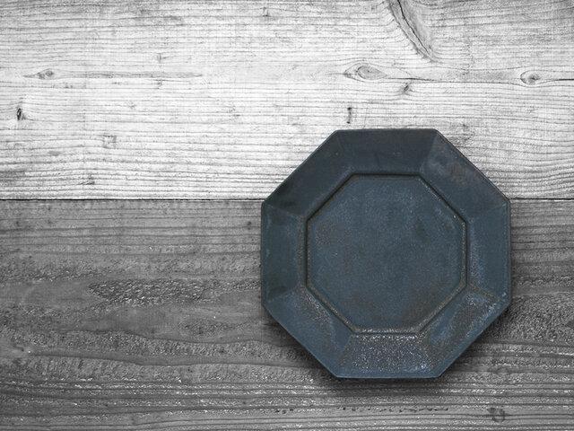■リム付き八角皿(2カラー)■
