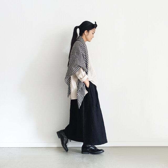 Natural × Black 着用