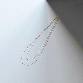 MARIHA|朝露 2連ネックレス ゴールドネックレス・1102820410199 マリハ