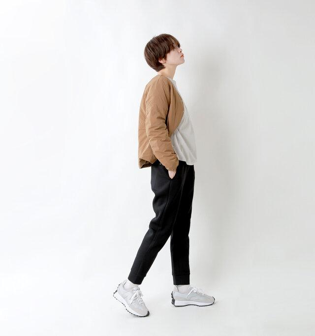 model saku:163cm / 43kg  color : black / size : womensM