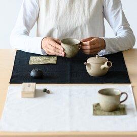 十布 大判ハンカチ 福島の刺子織