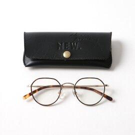 NEW.|HANCKE ハンケ メタルフレーム 多角形ウェリントン型眼鏡 ニュー