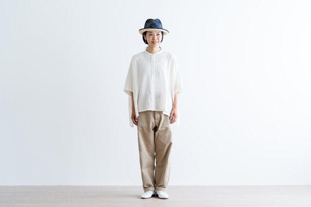 ホワイト着用 モデル身長:157cm