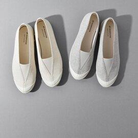 "MOONSTAR|コットンリネンキャンバススリッポンシューズ""LITE BALLET CL"" lite-ballet-cl-fn"