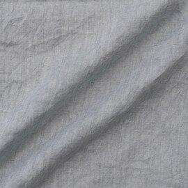 TUTIE.|ベルギーリネンべんがら染めタックノースリーブワンピース