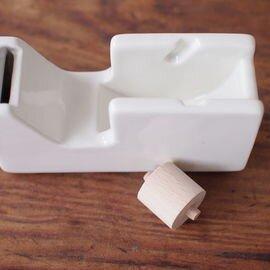 倉敷意匠|白磁 テープカッター