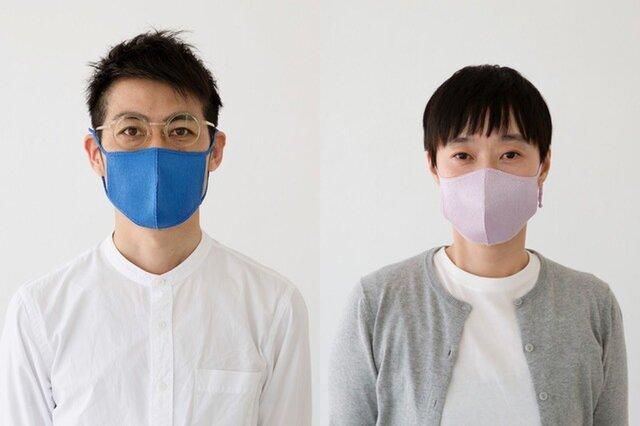 左:ブルー 右:ラベンダー