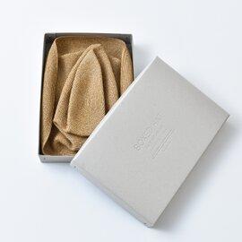 mature ha.|aranciato別注グログランリボンペーパーブライドボックスハット mbox-101-mm