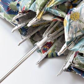 Cou Pole|晴雨兼用リバティプリントバンブーハンドル折り畳み傘 cc-48301-mm (日傘)