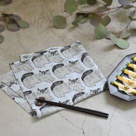 松尾ミユキ ハンカチ(ネコ)