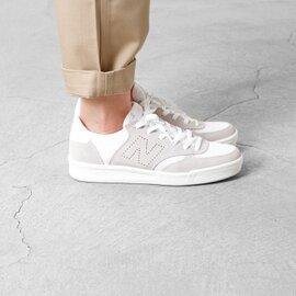 new balance|スエード×メッシュテニススタイル シューズ crt300-tr