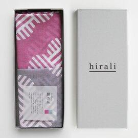hirali|ガーゼストール かさねの色目 ~願の糸~