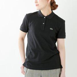 LACOSTE|コットンクラシックフィット半袖ポロシャツ pf7839l-rf